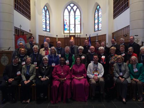 The Bishops and Deacons of the Diocese of North Carolina, gathered at their 198th convention this weekend. (Facebook)