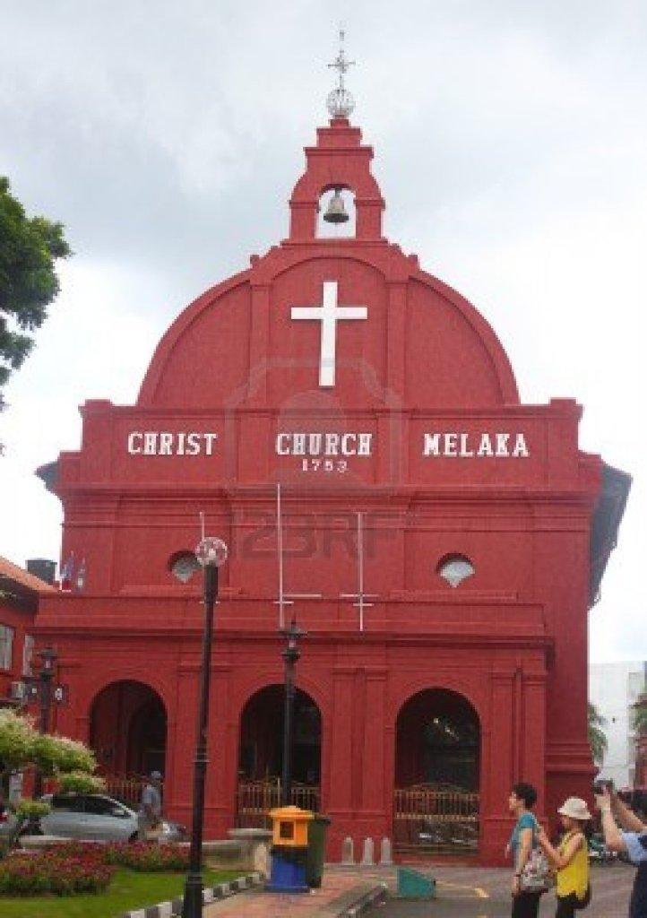 Christ Church, Melaka, Malaysia (123rf.com)