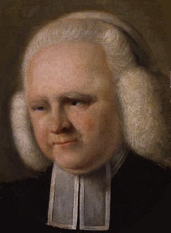"John Russell, 1770: George Whitefield. Whitefield's powerful, emotional preaching sparked the Great Awakening in 1740, as the Christian religion and the preachers who exhorted them took America by storm. He preached to tens of thousandsat a time, a celebrity preacher who once road from New York to Charleston on horseback, almost 800 miles, with advance men posting handbills announcing his imminent arrival. He owned a plantation in Georgia and was a Scripture-quoting  advocate of slavery, though he treated his slaves well; and he's the co-author with Charles Wesley of ""Hark! the Herald Angels Sing."""