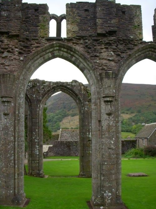 Llanthony Priory, Wales. You can still feel the prayers that were said there. (June Butler)