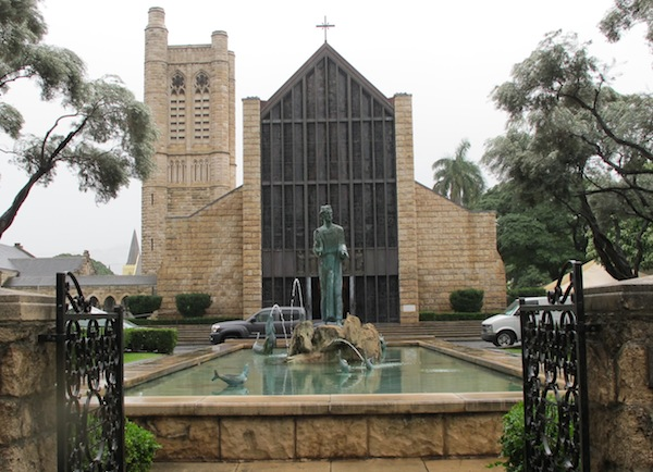 St. Andrew's Cathedral, Honolulu. Kame and Emma brought the Church of England to Hawai'i, believing that the stately beauty of its liturgy was attuned to the gentle spirit of the People. The king and queen built this cathedral. Only two other married couples are honored as saints in The Episcopal Church: Bertha and Ethelred, Queen and King of Kent – and the Parents of the Blessed Virgin Mary.