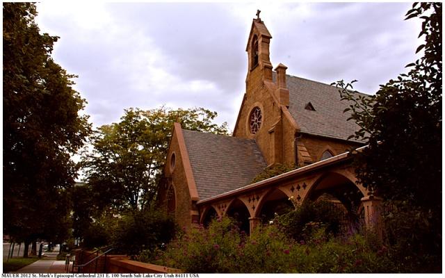 St. Mark's Cathedral, Salt Lake City, Utah. (Wikipedia)
