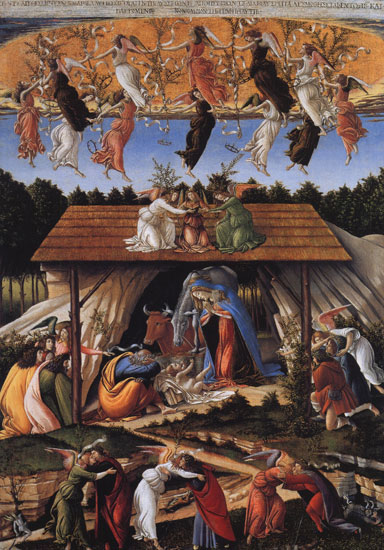 Botticelli: Nativity