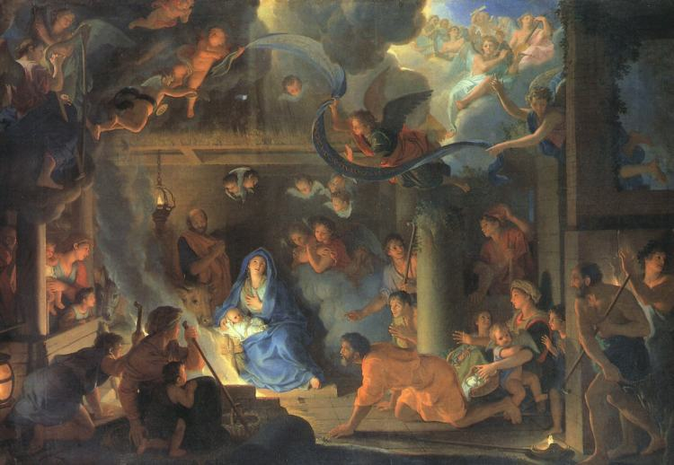 Charles LeBrun, 1689: Nativity