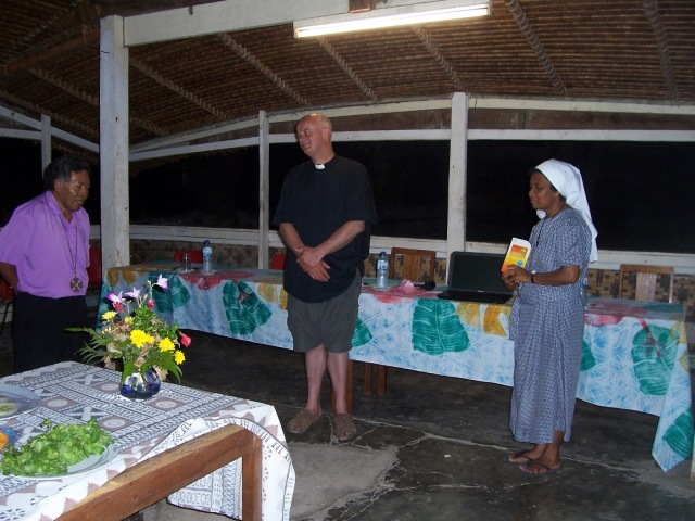 Richard Naramana, the Bishop of Ysabel, Province of Melanesia. (pidgin-drop-in.blogspot.com)