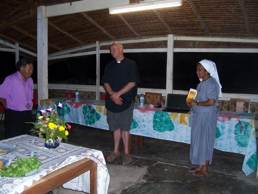 Richard Naramana, the Bishop of Ysabel, Province of Melanesia. (pidgin-drop-in.blogspot.com)