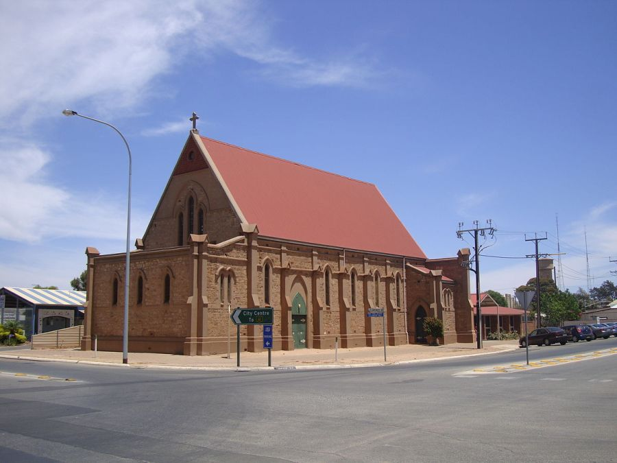 Ss. Peter and Paul Cathedral, Port Pirie, South Australia. (John Armagh, Wikipedia)