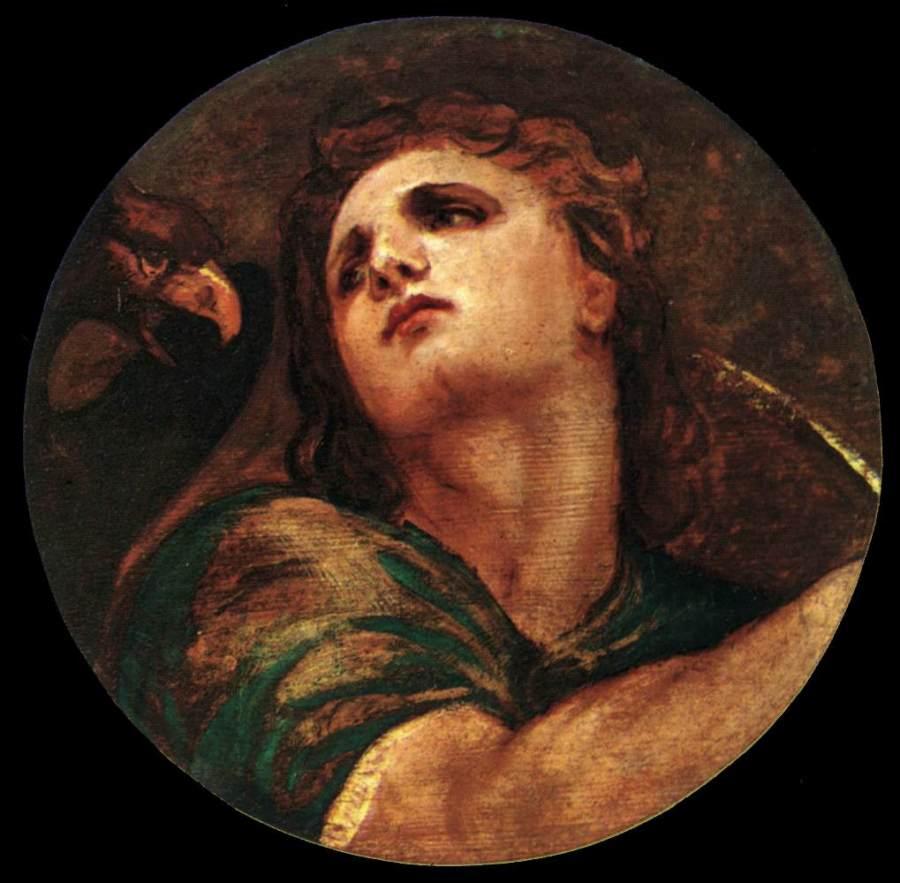 Titian: St. John the Evangelist (Wikipaintings.org)