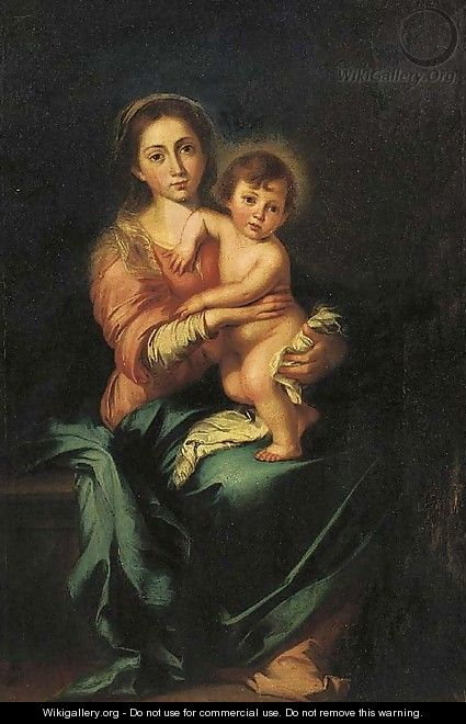 Bartolome Esteban Murillo: Virgin and Child