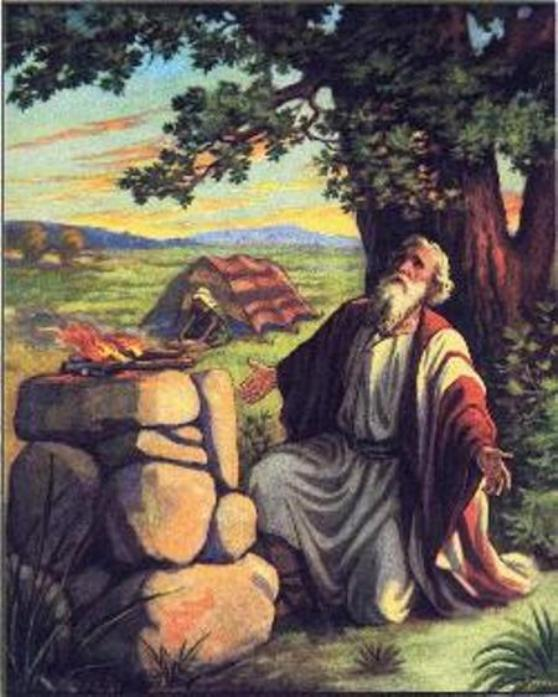 Abram's altar at Bethel (goye4th.blogspot.com)