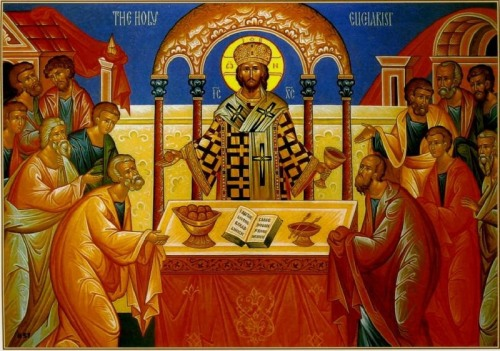 Christ the High Priest (livingorthodoxtheology.blogspot.com)