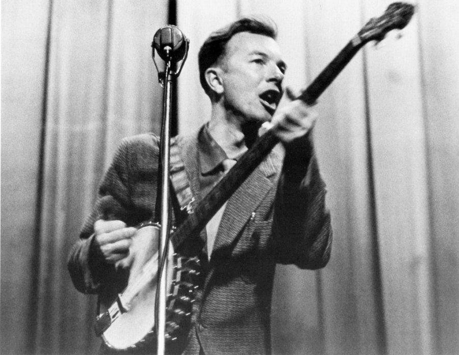 "Singer, songwriter, activist and folk music collector Pete Seeger has died; one of his most lasting contributions is ""We Shall Overcome,"" the civil rights anthem, which was compiled from many sources, including tobacco workers and lists four co-authors. (Reuters)"