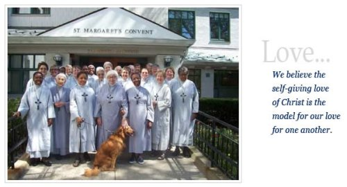 The Sisters of St. Margaret, a multi-cultural community in Massachusetts with members from Haiti, Canada, Tortola and the USA; other branches are located in Sri Lanka and the UK. (convent website)