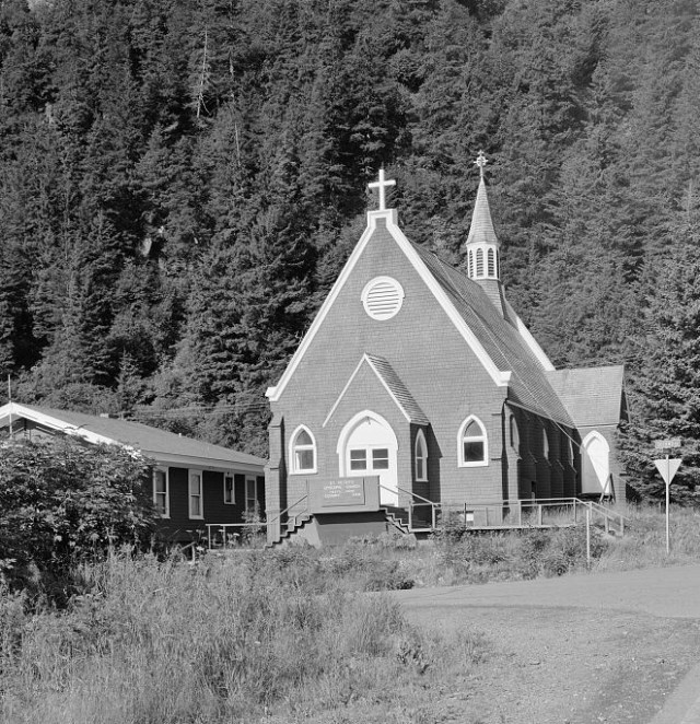 St. Peter's, Seward, Alaska, is on the U.S. National Register of Historic Places.