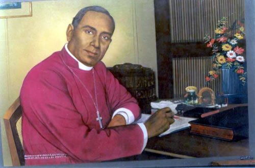 Bishop Azariah has an important place in church history for two reasons: as the first bishop to be a native of India, his appointment marked the end of foreign missionary work and the beginning of indigenous leadership. He also gave momentum to the ecumenical movement to unite the Protestant churches of India. He was a vicar's son who was zealous in promoting church growth and a strong advocate of ecumenism. Two years after his death, the United Church of South India was formed among Anglicans, Congregationalists, Methodists and Presbyterians. Further efforts continue today, in hopes of uniting North India, South India and the Mar Thoma Church. (Episcopal Standing Commission on Liturgy and Music)