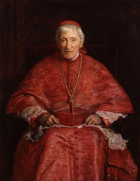 "John Everett Millais, 1881: John Henry Newman. He was born into England's evangelical Anglican tradition, fell in love with the Early Church Fathers, and wrote his famous Tract 90 in an attempt to reconcile Roman Catholicism with the 39 Articles of Anglicanism. The result was a Protestant backlash and national uproar. But he was so convinced by his own argument he became a Roman Catholic himself and was re-ordained a priest, undermining the Oxford Movement he professed four years earlier; if it led to reunion with Rome, many people didn't want it – while those who did ""swam the Tiber"" with him. But the greatest irony is that the formulation he developed, then rejected, that Anglicanism forms one of ""three branches"" of the historic catholic faith, has been widely adopted by the church he left."