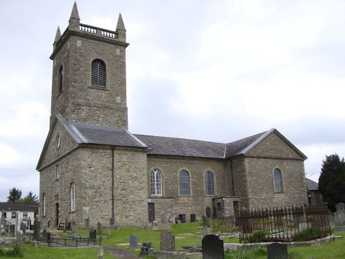 St. Macartan's Cathedral, Clogher; James Martin was the architect in 1744, but the diocese has existed for at least 1000 years. (John Armagh/Wikipedia)
