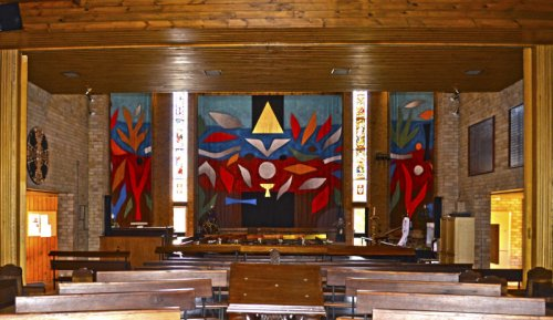 John Coburn: Wallhanging at All Saints' Cathedral, Bathurst, N.S.W. (Bob Mason)