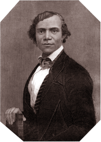 Henry Bibb was born into slavery in Kentucky, and after seeing his younger brothers sold off, he escaped to the northern state of Michigan, became an abolitionist lecturer and published his autobiography. In 1850 Congress passed the Fugitive Slave Act, making the entire U.S. population responsible for catching and returning escapees, so he fled to Canada and founded the first Black newspaper there. (Copper engraving by Patrick H. Reason)