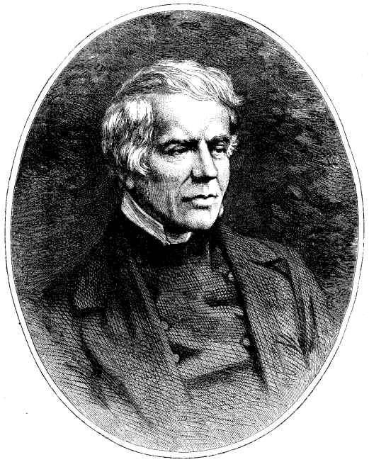 """John Keble, from the magazine """"Leisure Hour"""" in 1867. He was a scholar, poet and parish priest; his Assize sermon of 1833 ignited the Oxford Movement to restore Catholic teaching and traditions in Anglican theology and worship."""