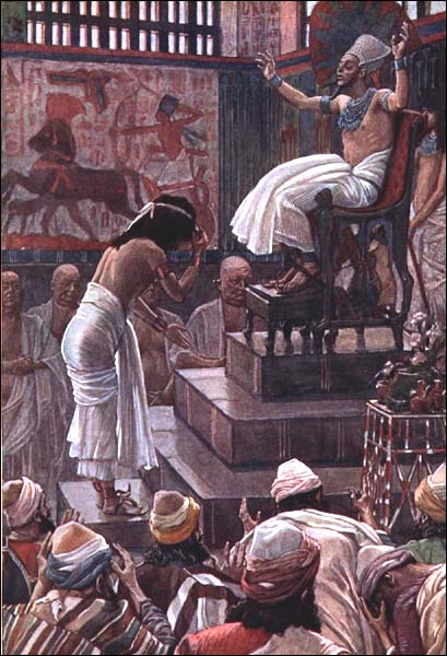 James J. Tissot, 1896-1900: Pharaoh Welcomes Joseph's Family to Egypt
