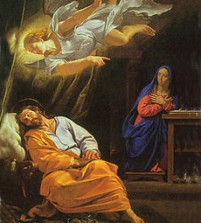 Philippe de Champaigne: Dream of St. Joseph