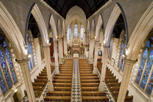 St. Paul's Cathedral, Dundee, in the Diocese of Brechin. (Royal Commission on the Ancient and Historical Monuments of Scotland)