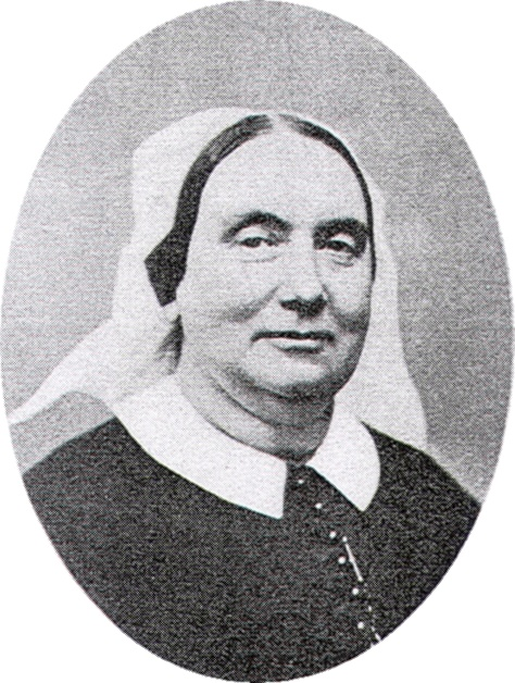 London-born Anne Ayres moved to New York in 1836, was stirred to action by the sermons of Fr. Muhlenberg, founded the Sisters of the Holy Communion, the first Anglican religious order in North America, and worked with him to found and staff St. Luke's Hospital, which greatly improved acute care in the city. The Sisterhood lasted until 1940. (slhson.org)