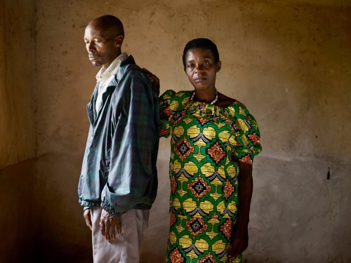 "Jean Pierre and Viviane, a perpetrator and survivor of the genocide in Rwanda, are featured in an amazing photo essay in The New York Times called ""Portraits of Reconciliation."" He killed four of her family members; she learned to forgive him. You owe it to yourself to click here: http://nyti.ms/1lza8Kn"