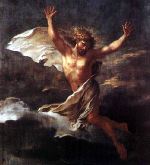 Salvator Rosa: Resurrected Christ