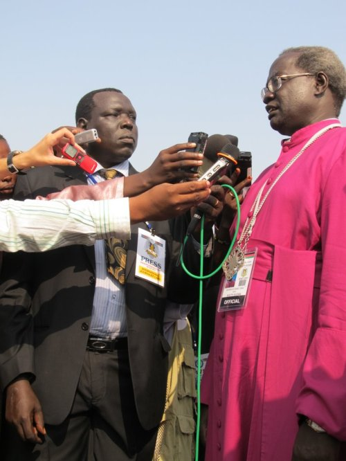 Episcopal Archbishop Daniel Deng Bul supervises dioceses in both Sudan and South Sudan, and has been actively involved in peacemaking. The combatants agree to deals easily enough, but they fall apart within hours. (Episcopal Life Online)