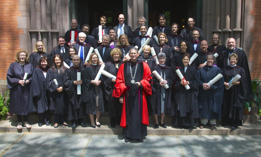 Class of 2014 at the General Theological Seminary, New York City. Congratulations, graduates! (seminary website)
