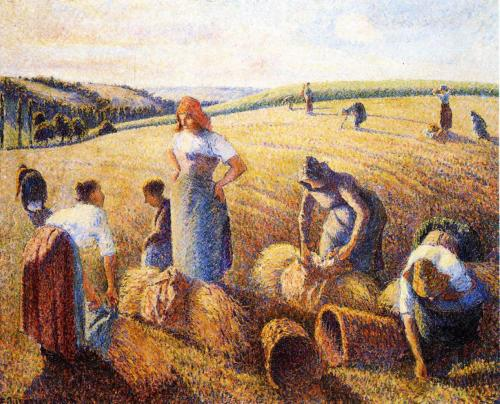 Camille Pissarro: The Gleaners, 1889