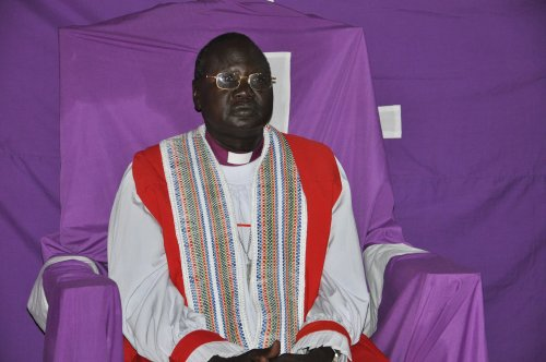Bishop Ruben Akurdid, Bishop of Bor, South Sudan, celebrated Mass at his cathedral last Sunday despite all the pain, fear and suffering of the people.