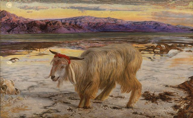 William Holman Hunt: The Scapegoat