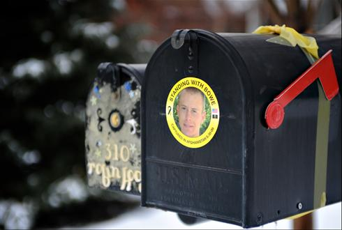 On Christmas Day 2009 we posted this photo of the mailbox at U.S. Sgt. Bowe Bergdahl's home in Hailey, Idaho after he was kidnapped by the Taliban in Afghanistan. That was on our old website, and we kept it there for years until that site finally died and we moved to our blogs. Now, five years later, we are thrilled to learn…