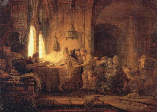 Rembrandt: Parable of the Generous Landowner