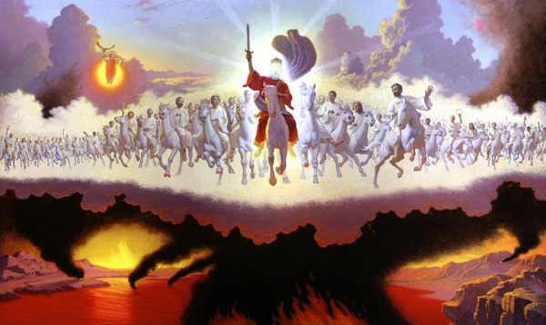 The white horse with its rider, Faithful and True. (churchunity.net)