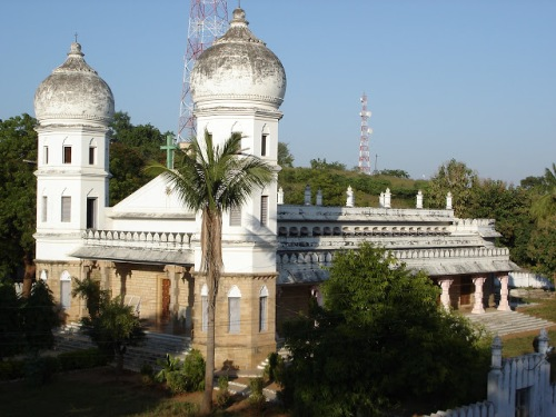 Epiphany Cathedral, Dornakal, built by Bishop V.S. Azariah, whose feast day is January 2. (missionariesoftheworld.org)