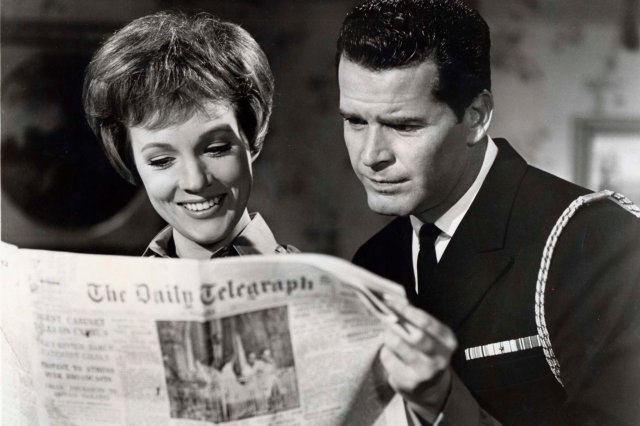 "When actor James Garner died this week (seen above with Julie Andrews in his favorite film, ""The Americanization of Emily,"" 1964). this quote from his autobiography surfaced in The New York Times: ""I'm a Methodist, but not as an actor. I'm from the Spencer Tracy school: Be on time, know your words, hit your marks, and tell the truth."" He did that all through his career, and now may he rise in glory for it."