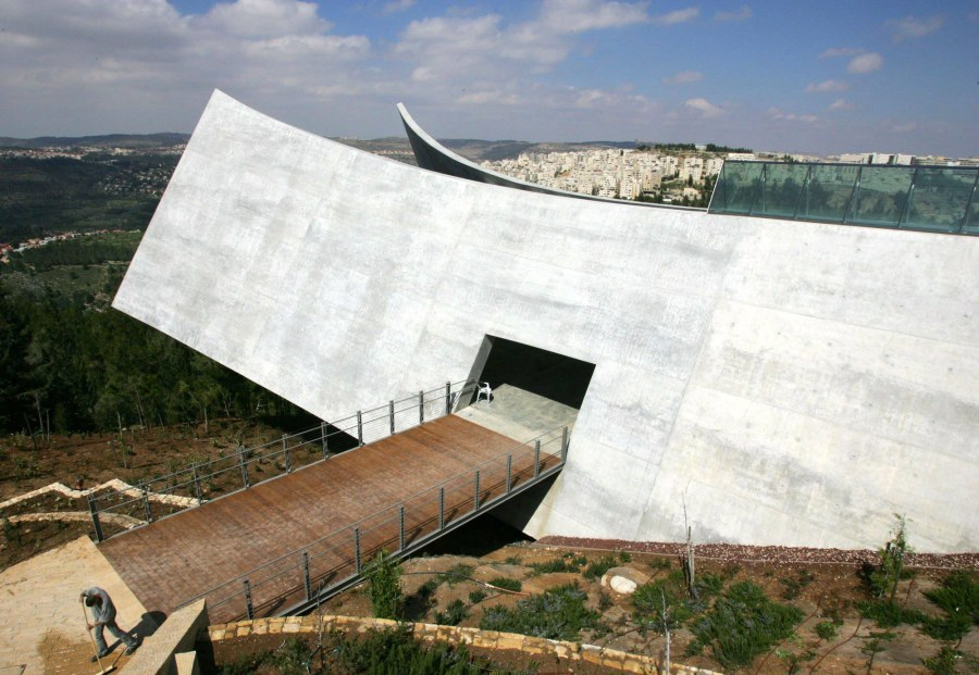 Moshe Safdie, architect: Yad Vashem, the Holocaust Museum in Jerusalem. (David Silverman/Getty Images)