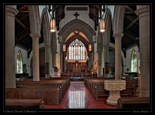 Christ Church Cathedral, Fredericton, New Brunswick, Canada. (Trevor Morris)