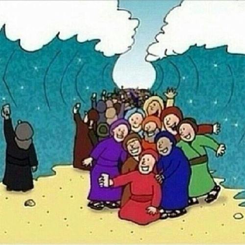The selfie craze has now reached the ancient Israelites. (Sharon Jaynes on Facebook)