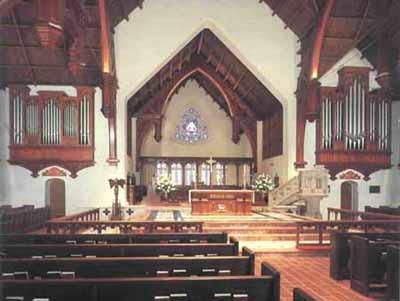 St. John's Cathedral, Jacksonville, Florida. (Wikipedia)