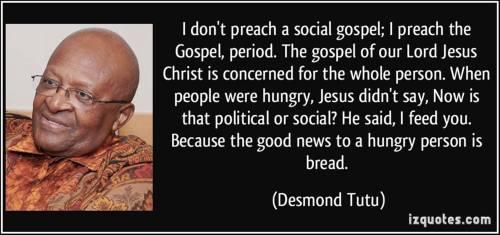 Tutu.SocialGospel=Gospel
