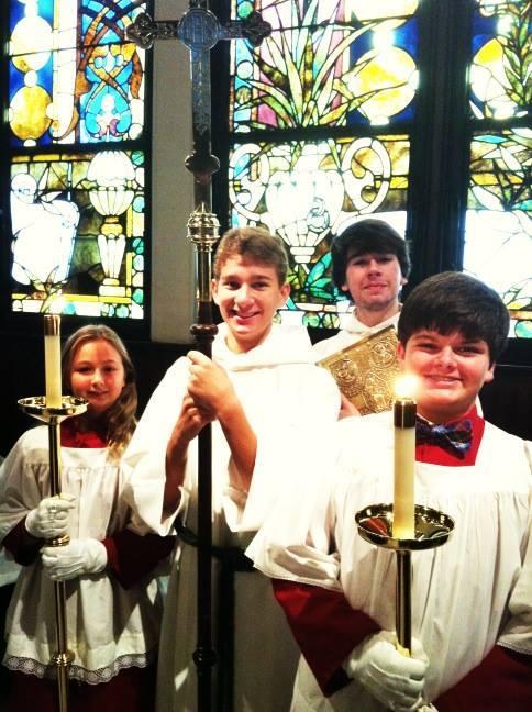 Cheerful acolytes at Trinity Church, Columbus, Georgia, USA. (TEC on Facebook)