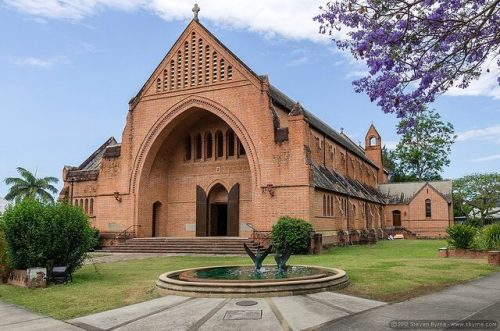 Christ Church Cathedral, Grafton, from the parish Facebook page.