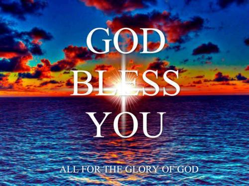 god bless you-night