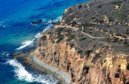 For joy in God's creation: headland of Dana Point, California. (D. Ramey Logan)