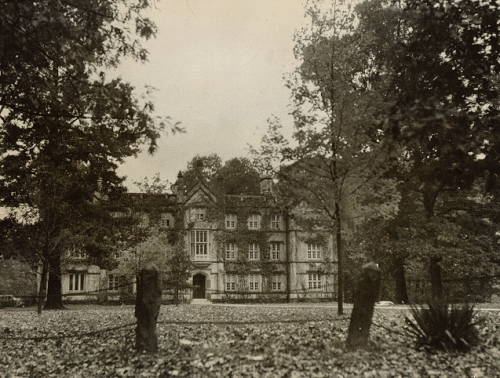 The original Bexley Hall on the campus of Kenyon College in Gambier, Ohio, founded by Bishop Chase. The Episcopal seminary named Bexley Hall has since moved and affiliated with several other institutions (Rochester, N.Y. and Columbus, Ohio), most notably forming a federation with Seabury-Western in Chicago. Now with two campuses, it remains one of 10 official Episcopal seminaries in the USA. Meanwhile this building now contains the fine arts department at Kenyon. (Papers of Philander Chase, Kenyon College)